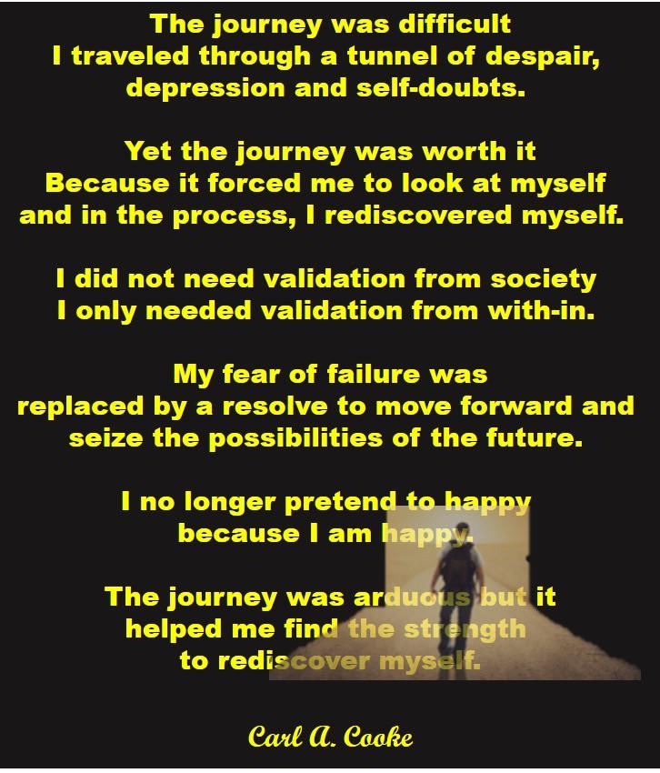 rediscover myself